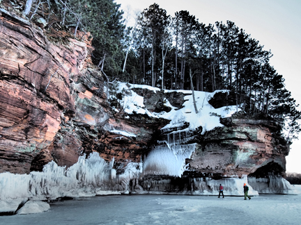 2014 Apostle Islands Sea Caves