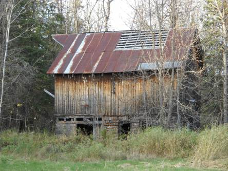 Functional? Not so much. But it sure adds character to this Herbster property for sale.